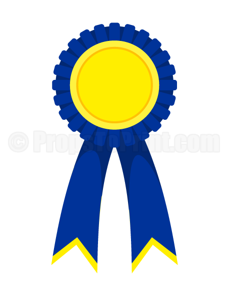 free download Printable award ribbon photo booth prop