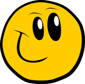 clipart royalty free library Award clipart smiley. Silly happy face