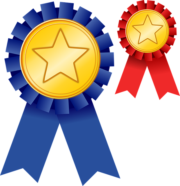 jpg library stock Great clipart school award. Culver city gold ribbon
