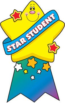 clip art royalty free download Awards clipart star. Student sir shivanand class.