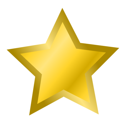 jpg black and white library About us black s. Awards clipart star.
