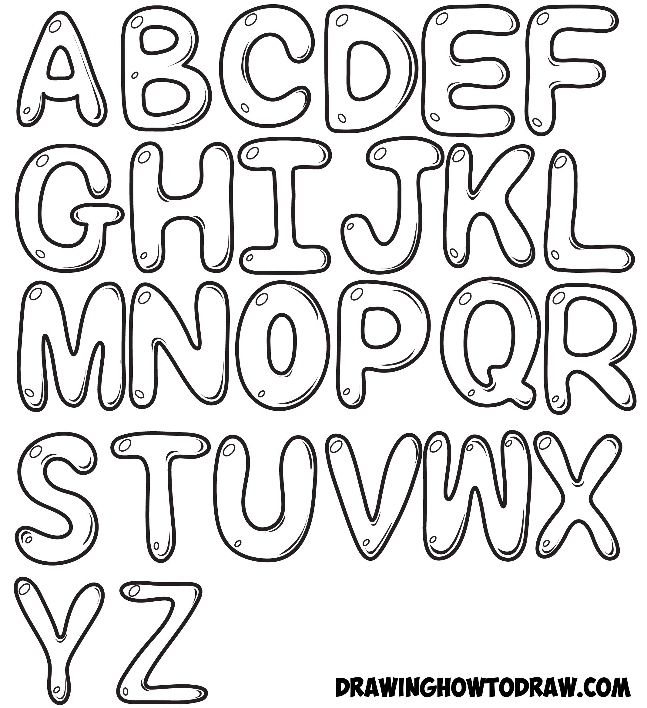 svg royalty free stock Awesome clipart bubble letter. Cool letters alphabet to