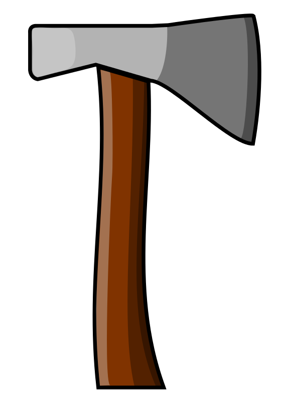 graphic free download Hatchet vector animated. Ax clip art clipart