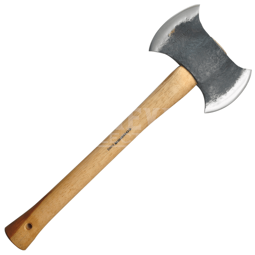 clipart royalty free library Axe clipart double bladed. Drawn sided free on.