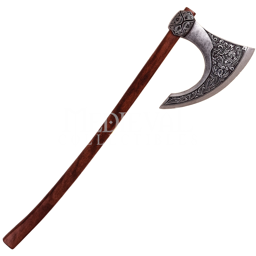 free stock Drawn sword free on. Axe clipart double bladed.