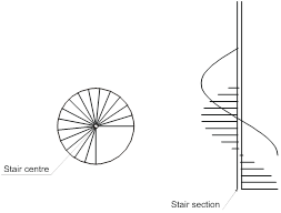 graphic black and white Collection of free Drawing stair circle