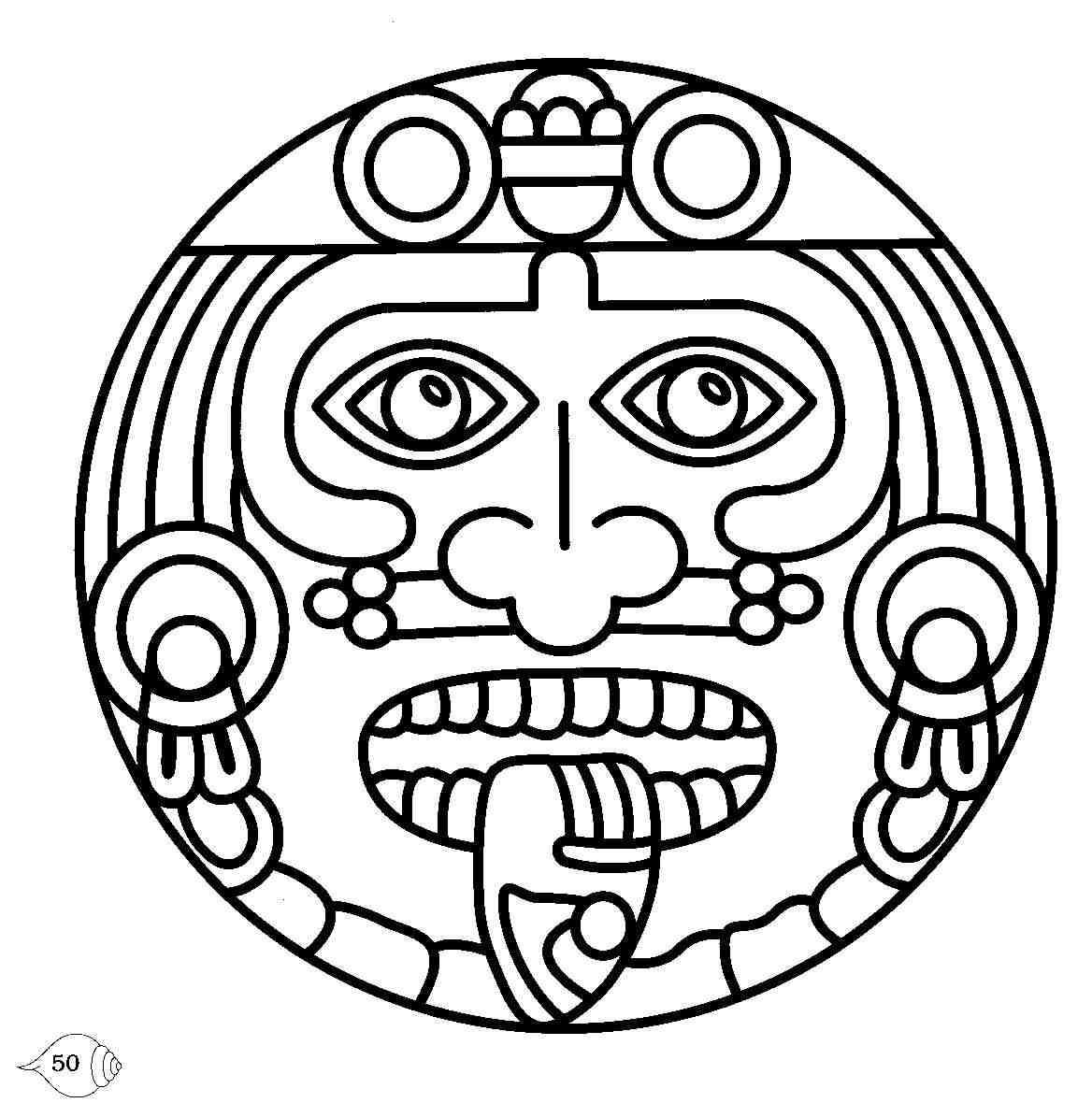 svg free Free images download clip. Aztec clipart.