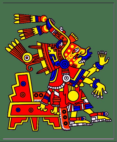 clipart stock Aztec Clipart aztec god