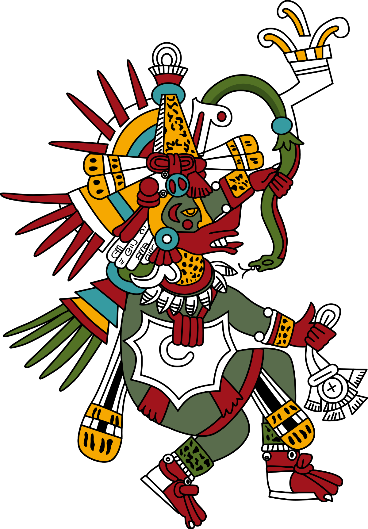 clip art freeuse library Quetzalcoatl