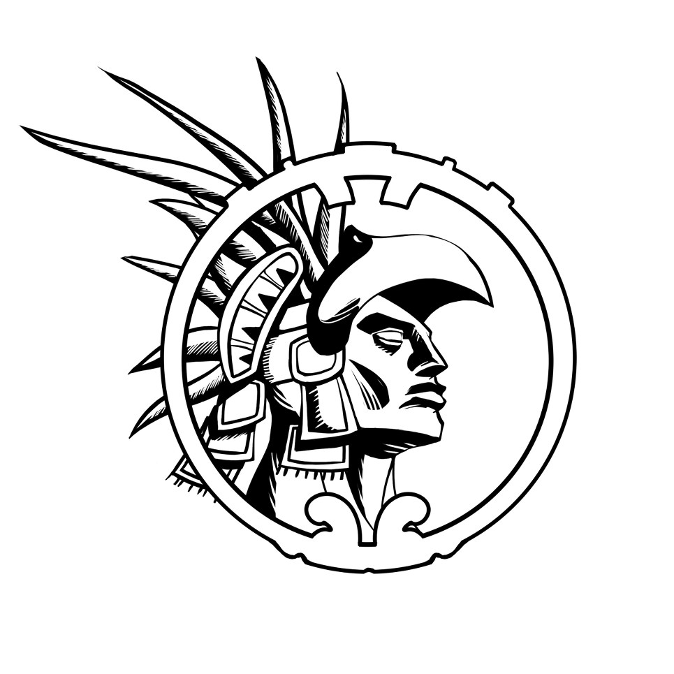 png transparent library Aztec Warrior Drawing at GetDrawings