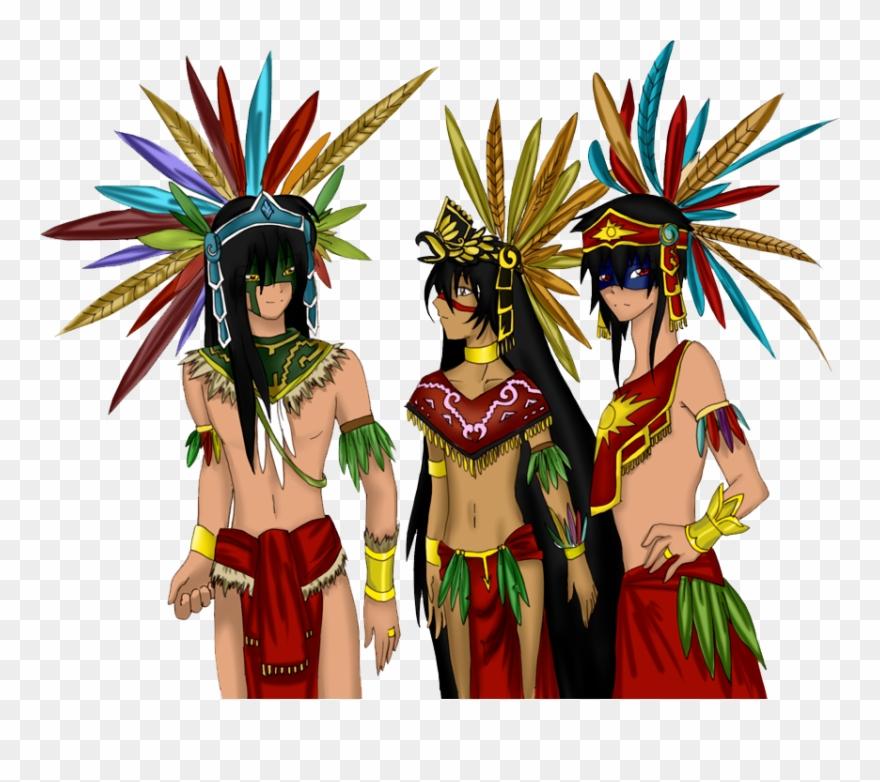 clip art stock Aztec clipart aztec princess. Warrior empire png download.