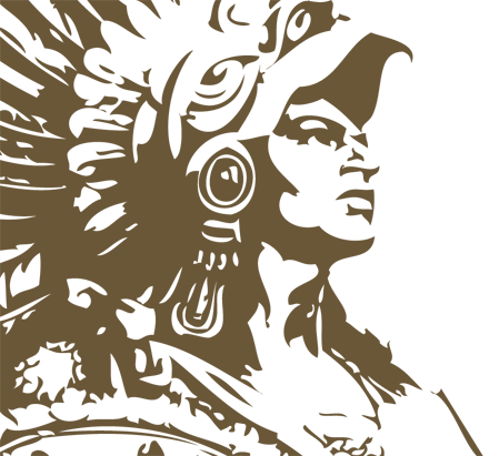clipart transparent library Aztec Warrior Drawings