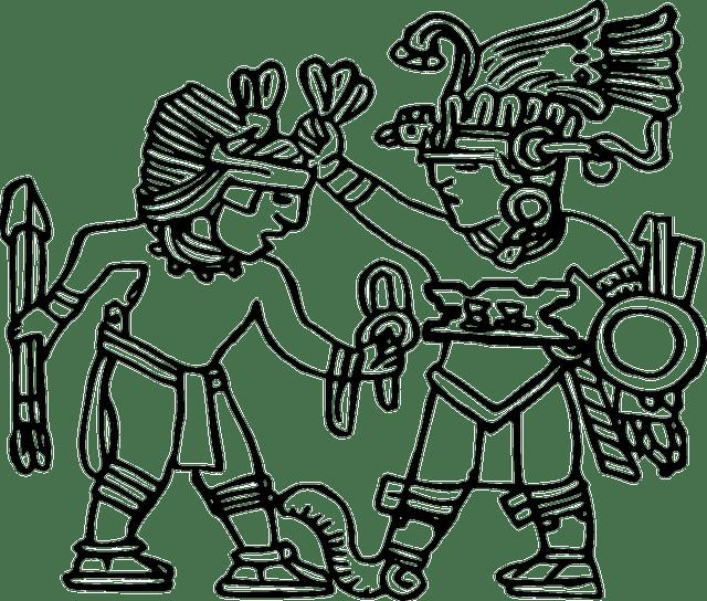 clipart royalty free library Drawing at getdrawings com. Aztec clipart aztec princess.