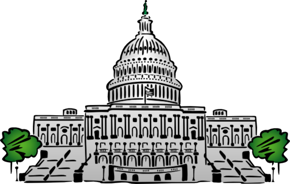 jpg black and white library Right Clipart congress
