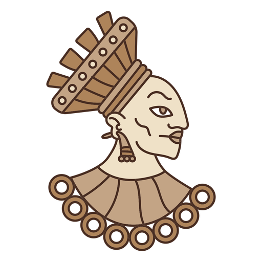 picture library library Head illustration transparent png. Svg backgrounds aztec
