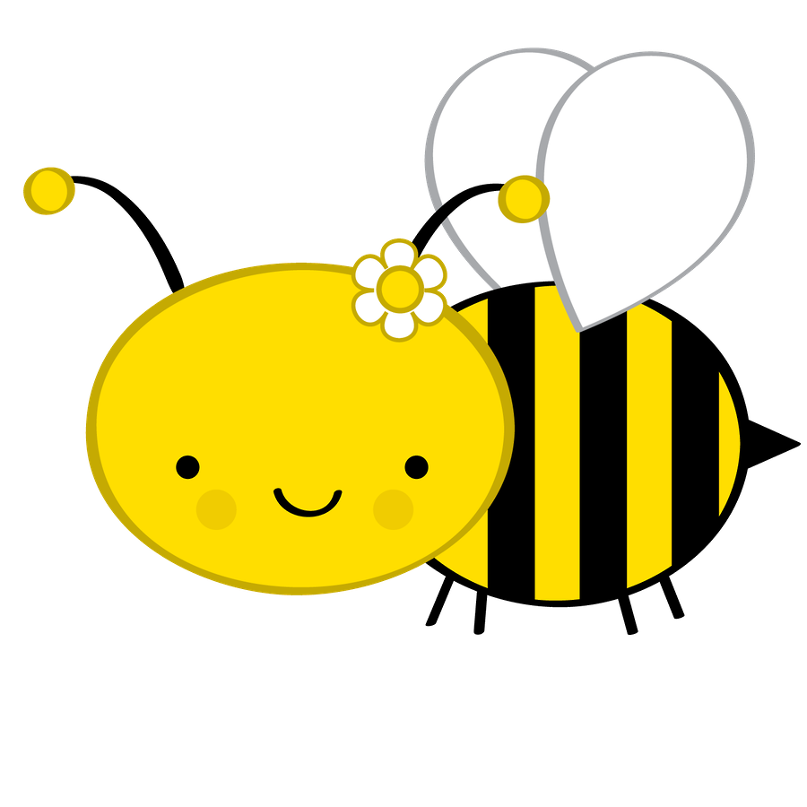 png stock Minus say hello animalitos. Bumblebee clipart comb.