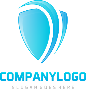 jpg transparent Vector blue abstract. Logo eps free download