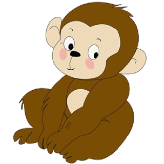 clipart transparent stock Funny baby pictures monkeys. Babies clipart monkey.