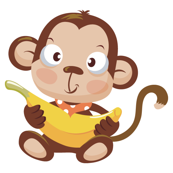 picture transparent download Babies clipart monkey. Http www cliparthut com.