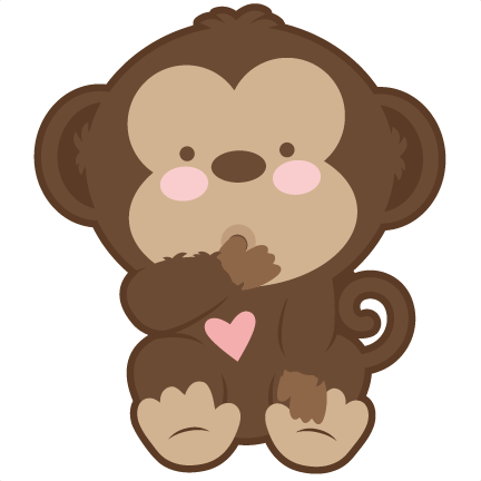 banner royalty free library Monkey baby clipground clip. Ape clipart monke.