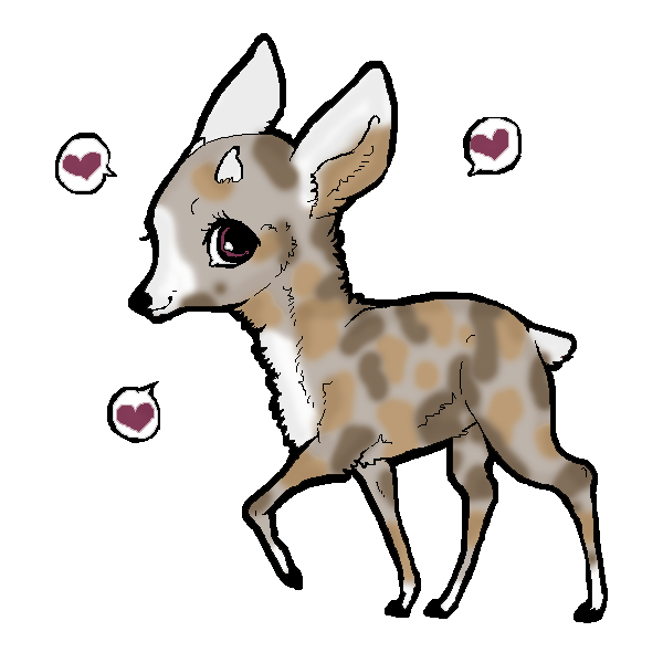 picture royalty free stock Collection of free deers. Drawing deer cute