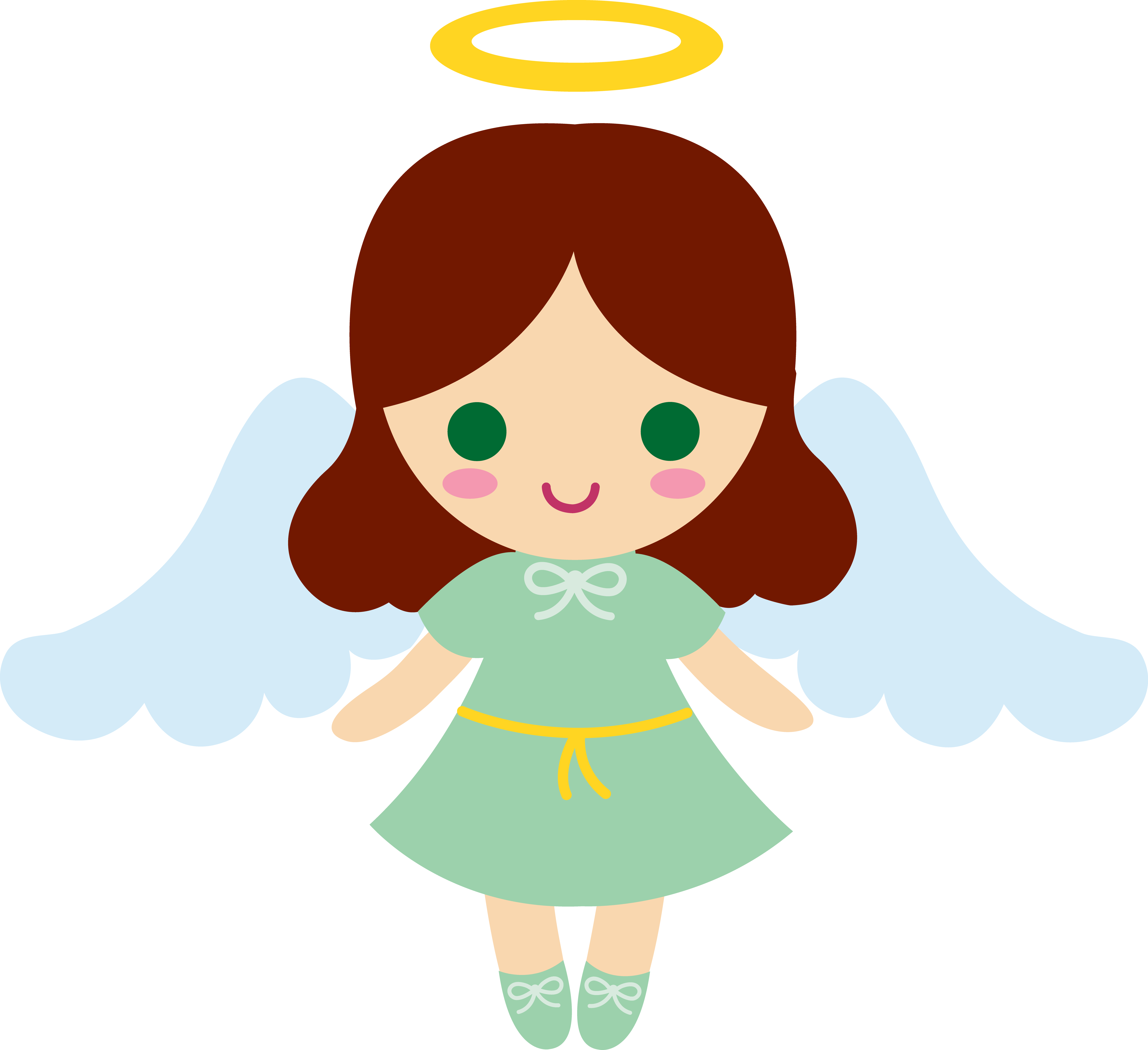 image transparent library Vector angel little.  collection of baby
