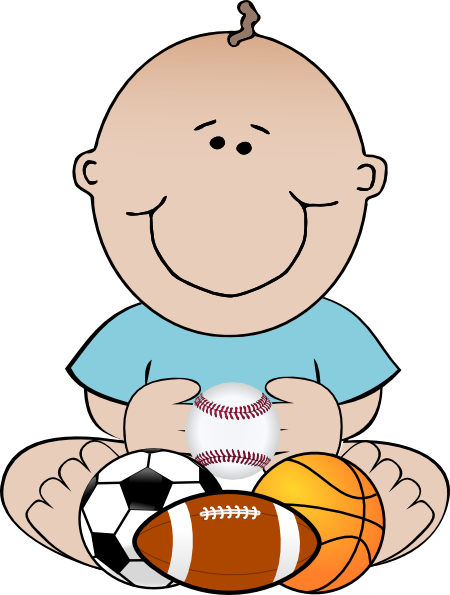 svg library library Sports Baby Clip Art at Clker