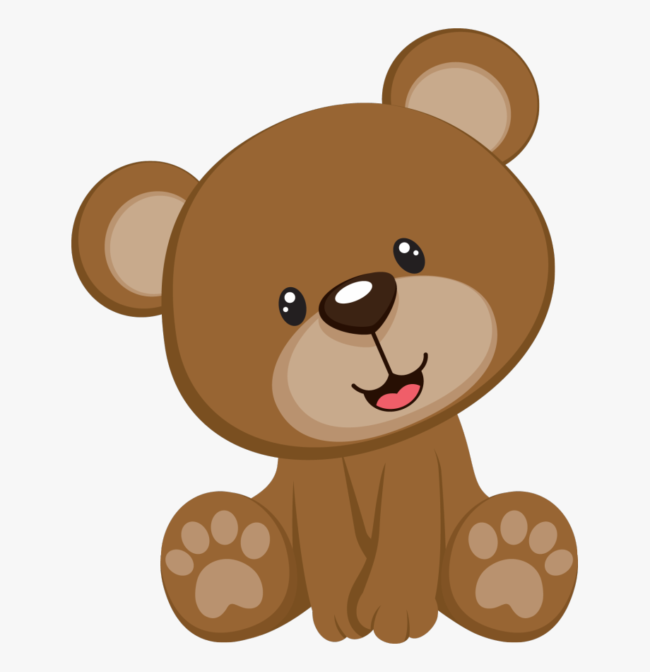 image black and white library Teddy free . Baby bear clipart