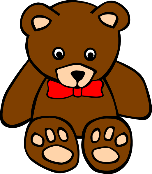 clipart free stock Baby bear clipart. Teddy at getdrawings com