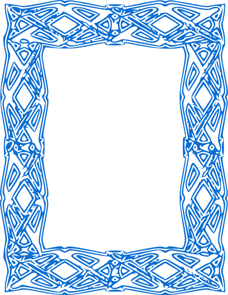 svg royalty free download Baby borders clipart. Blue border panda free
