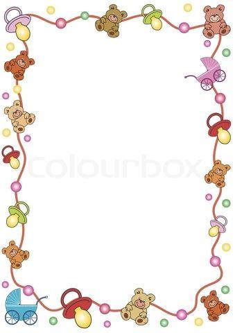 jpg freeuse Free clip art stock. Baby borders clipart