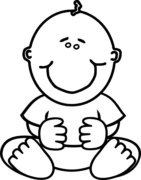 clipart transparent stock Baby Boy Clip Art at Clker