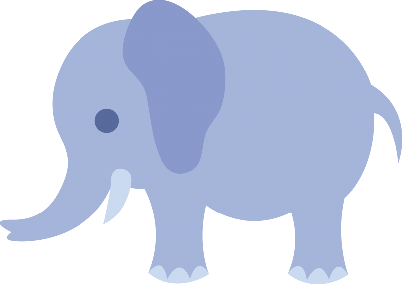 vector black and white download baby boy elephant clipart #57164237