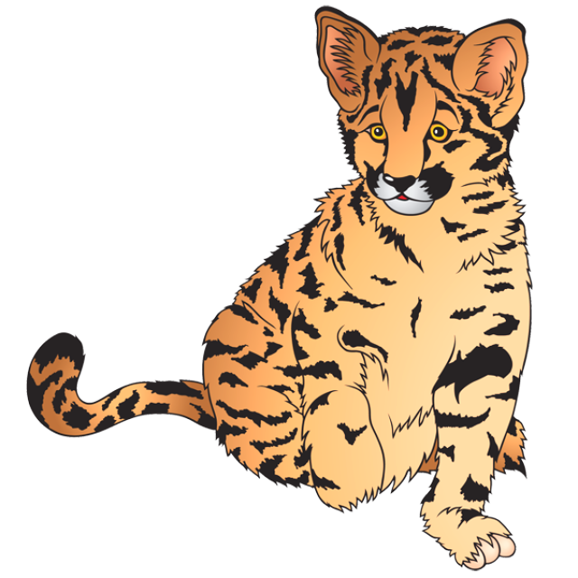 banner freeuse Free Cheetah Clipart at GetDrawings