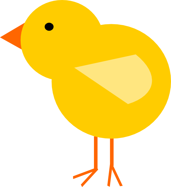 picture library Yellow Baby Chick Clip Art at Clker