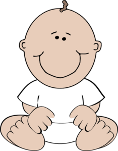 image free download Clip art at clker. Baby clipart.