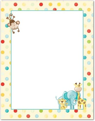 jpg free library Baby clipart borders. Animal clipartsgram com backgrounds