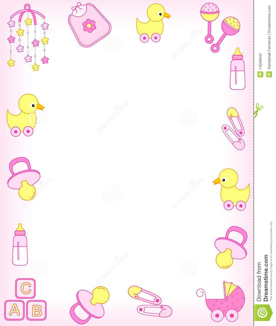 picture free download  clip art clipartlook. Baby clipart borders