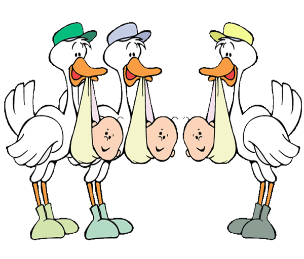 image transparent download twins clipart stork #85220244
