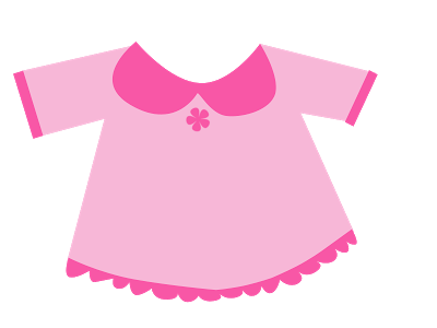 jpg transparent Girly clipart garment. Image of baby onesie