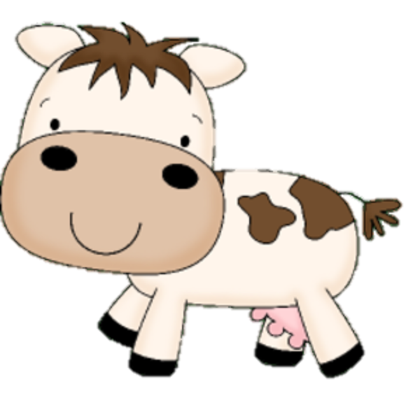 clip art royalty free library Baby Cow Clipart