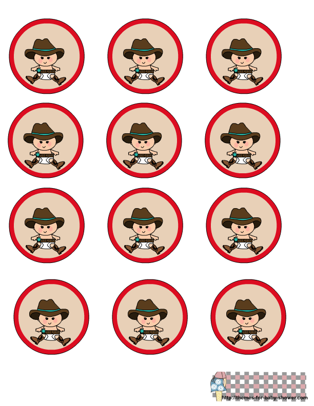 svg freeuse stock Baby Cowboy Clipart