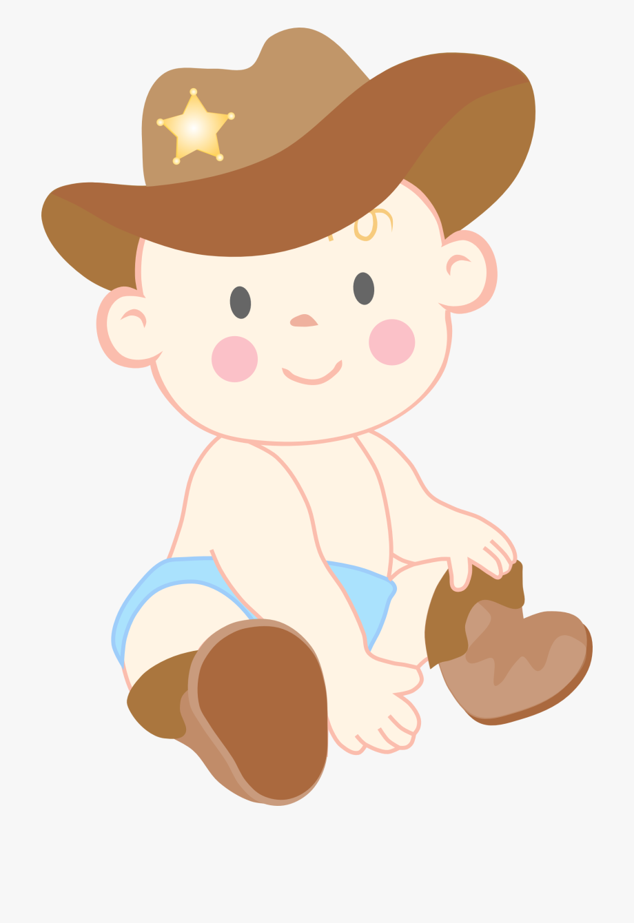 jpg transparent stock Boots clipart . Cowboy transparent baby