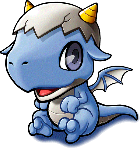 banner royalty free cute baby dragons