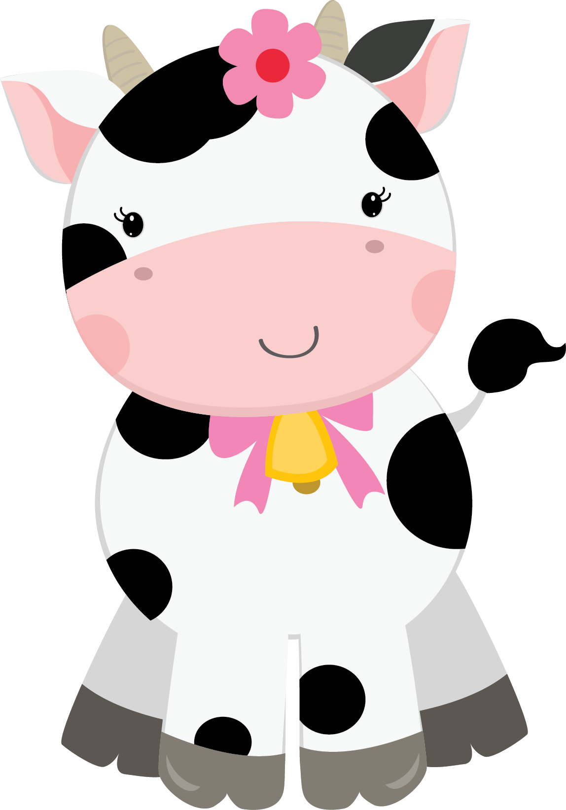 svg transparent Baby farm animal clipart. Cherry friends for girls