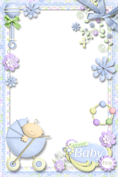 clip art freeuse download Photo Frame for Baby Boy