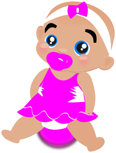 clip royalty free Pink Baby Girl Clipart Png