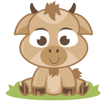 svg royalty free stock Baby svg cutting file. Goat clipart free