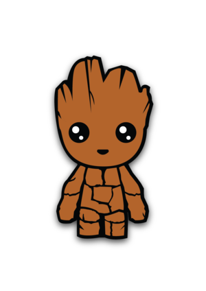 picture freeuse library Baby Groot sticker