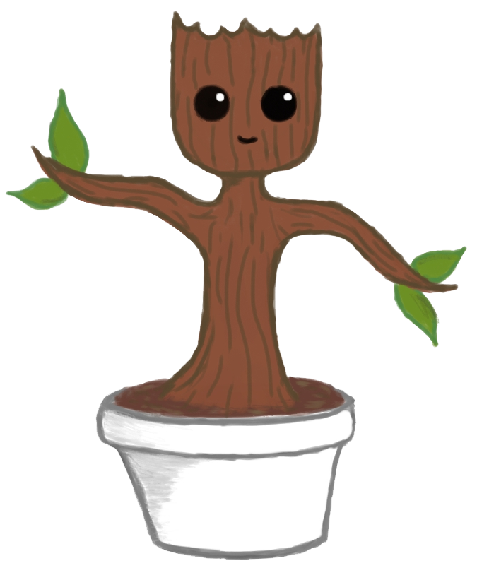 clip art free download Baby Groot PNG File